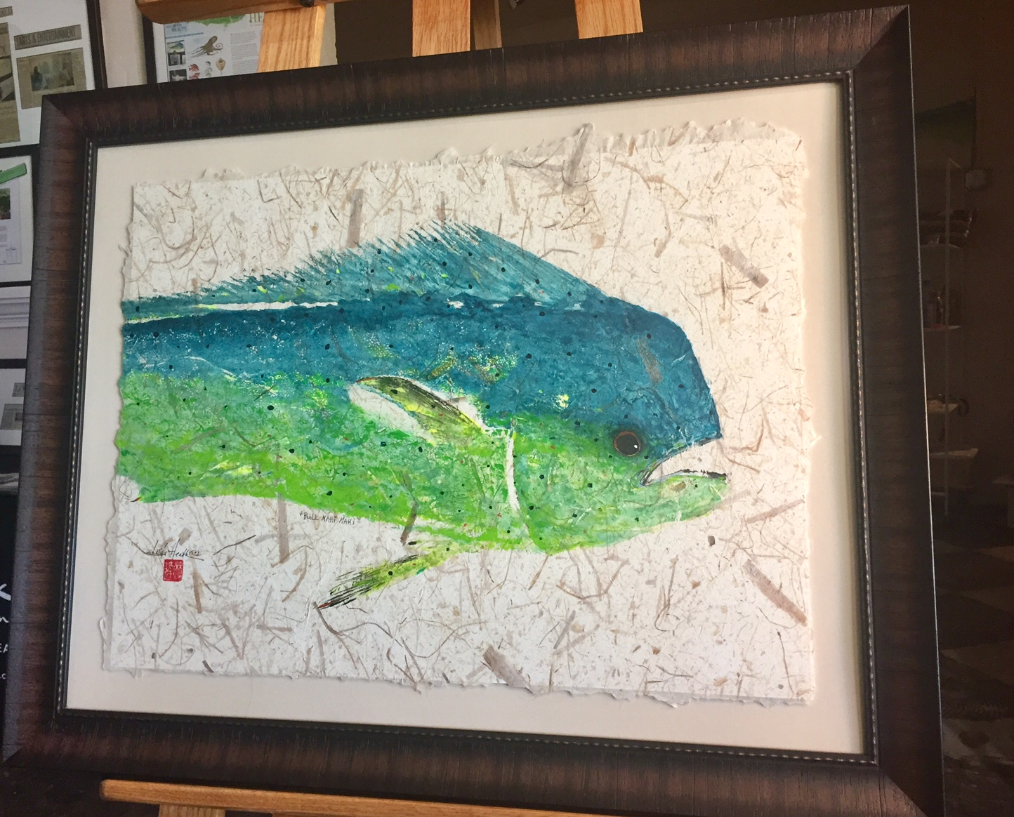 Original Mahi Mahi by Linda Heath