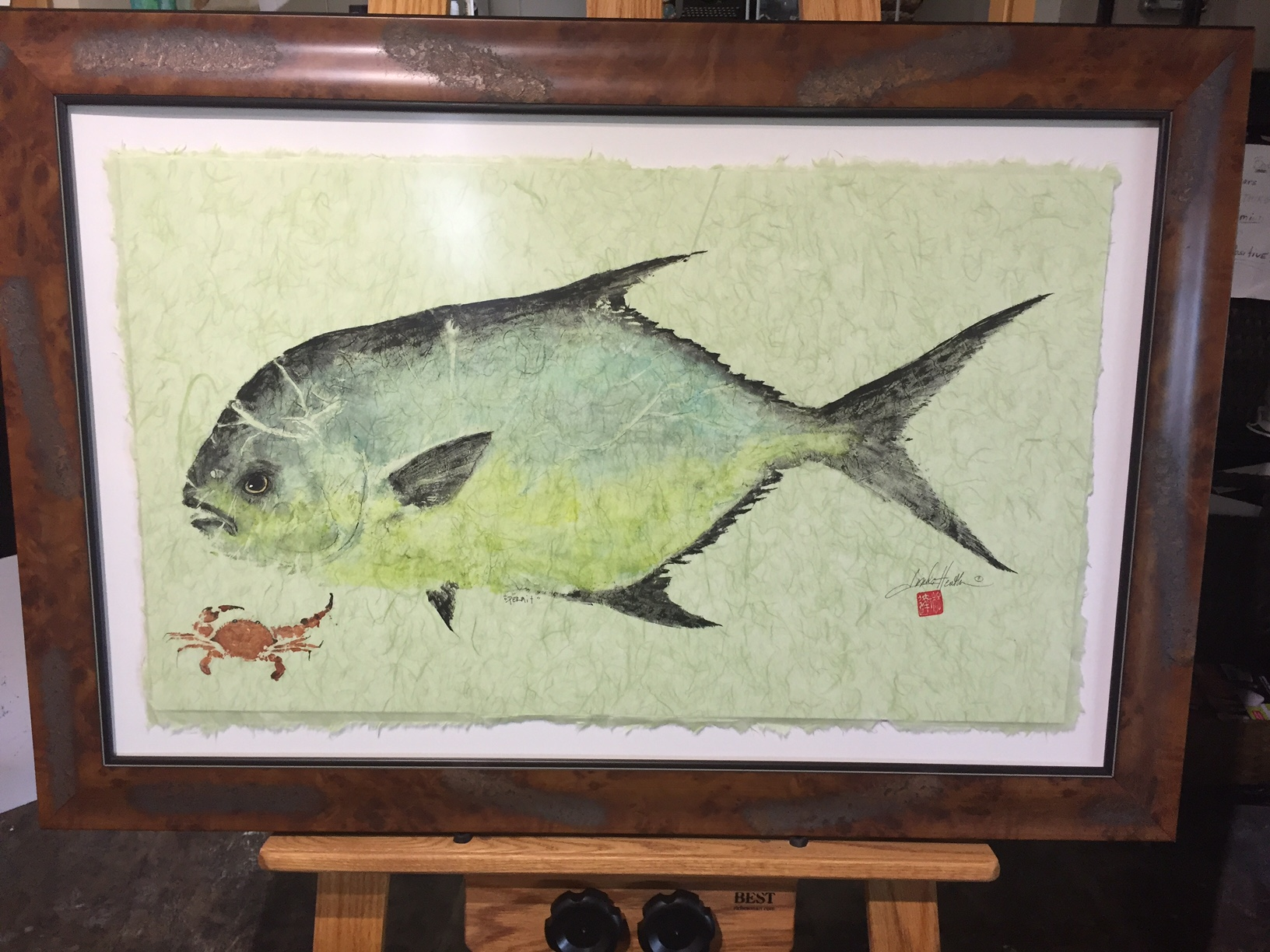 Original Permit with Pass Crab