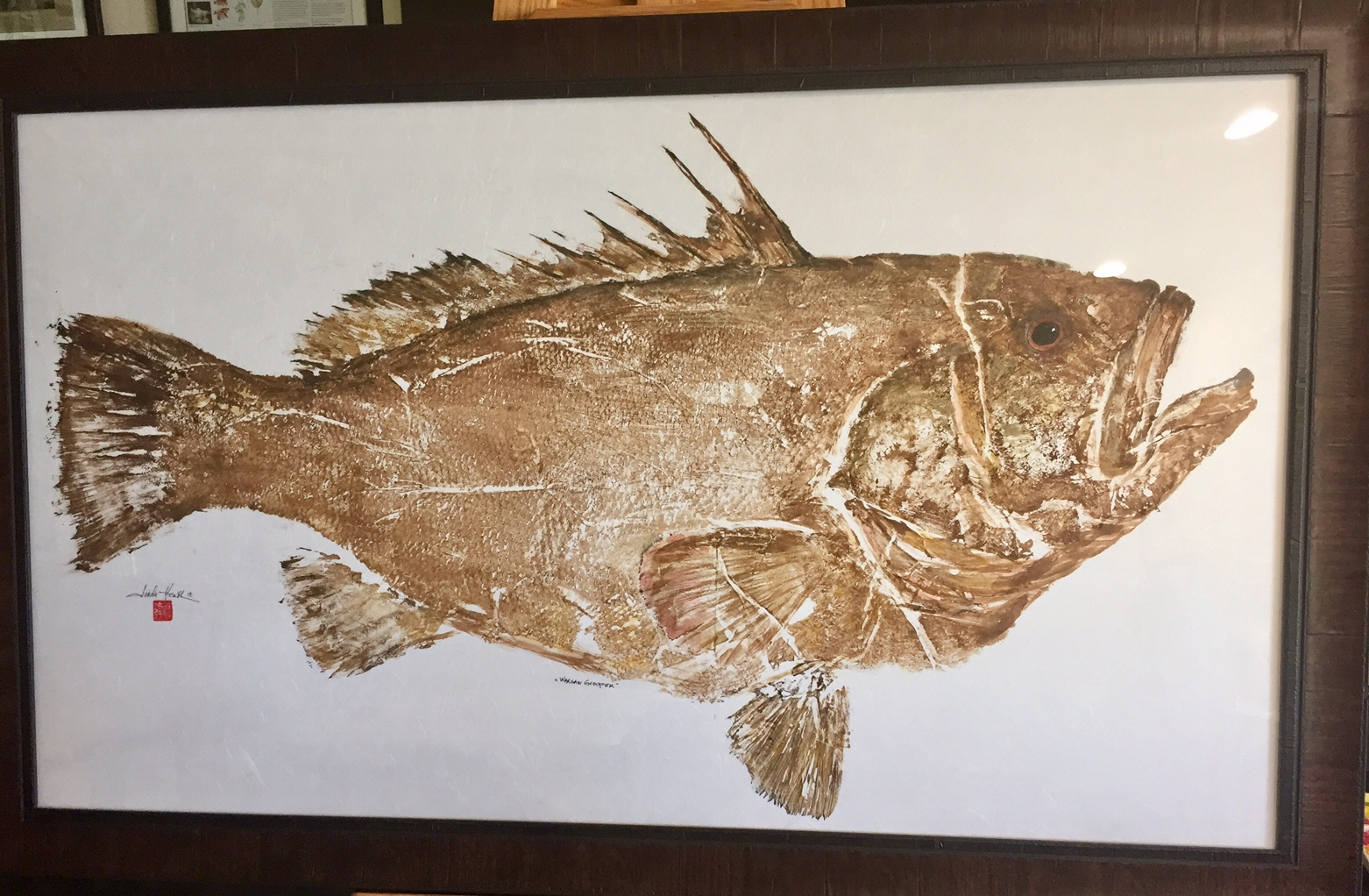 Original Warsaw Grouper By Linda Heath