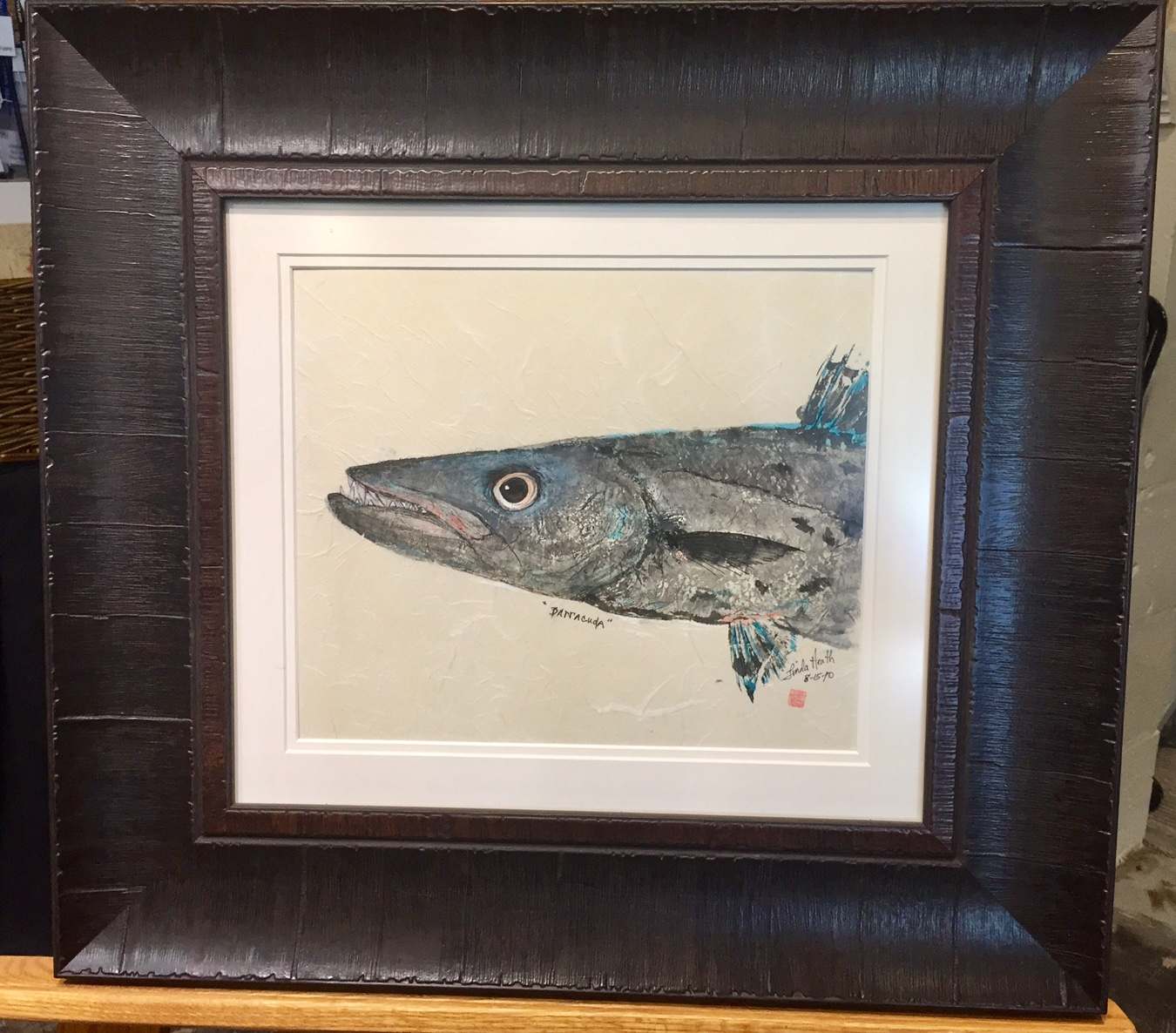 Original-Gyotaku-Barracuda-Head