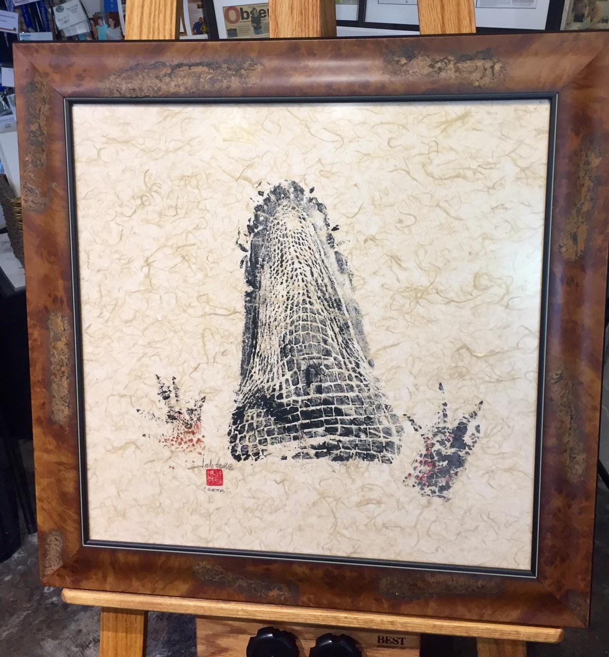 Original-Gyotaku-Gator