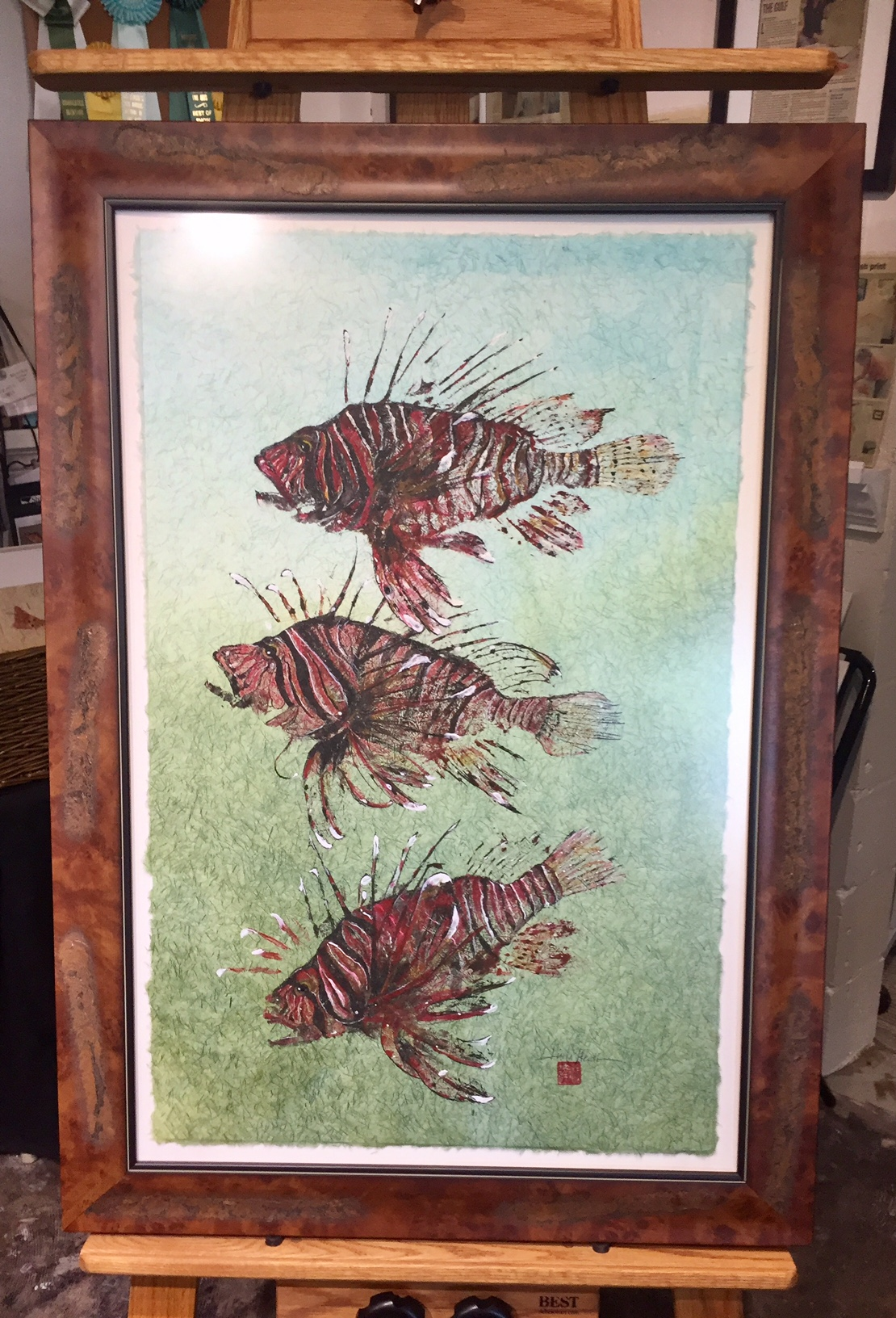 Original-Gyotaku-LionFish