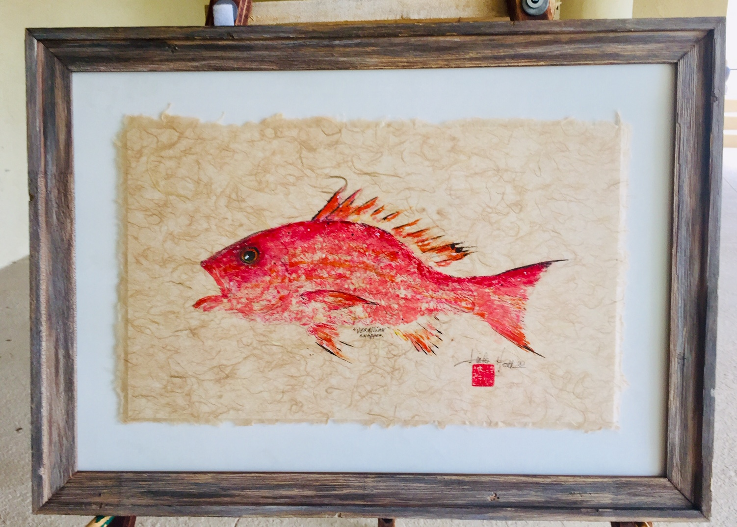 Original - Vermillion Snapper